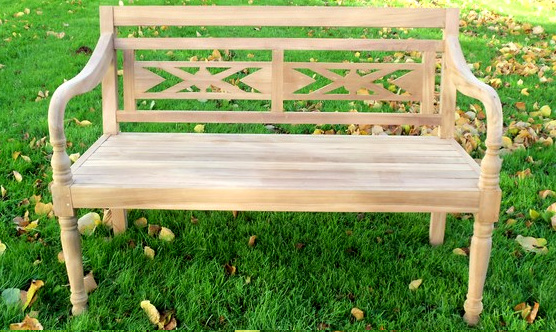 Exceptionnel Ornate Bench C